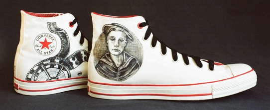 Buster Keaton from Signature Soles