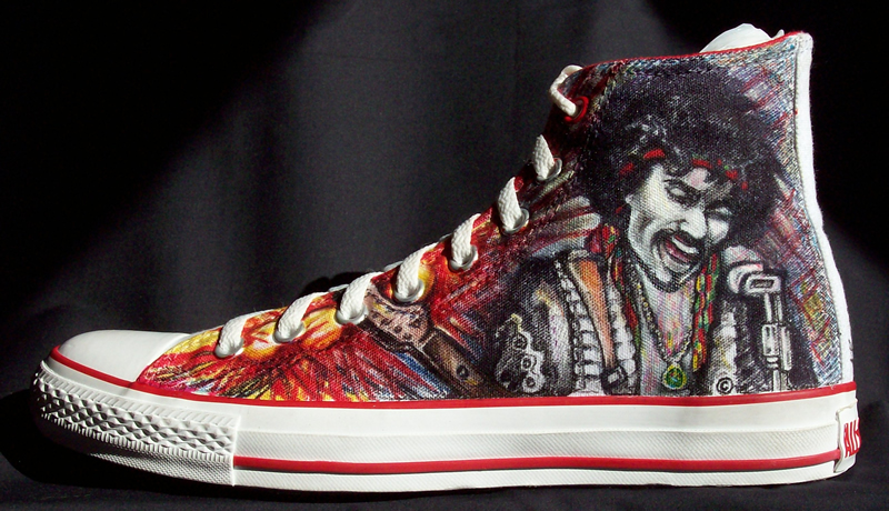 Jimi Hendrix from Signature Soles