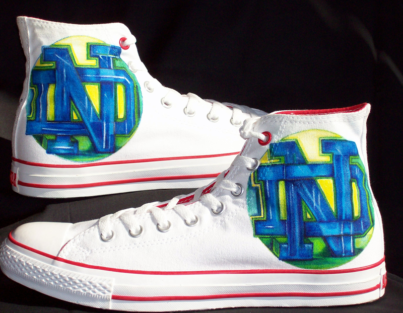 XXNotre Dame LogoX from Signature Soles